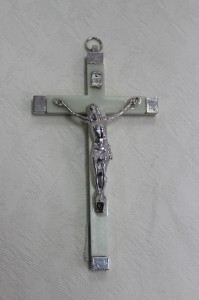 Epoxy with Crucifix