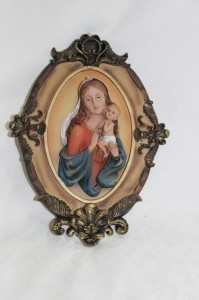 Mother Mary Wall Icon