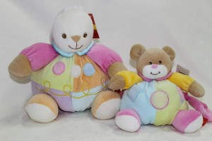 Musical soft toys